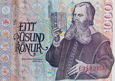 Þúsund krónu seðill