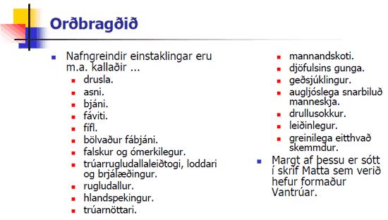 Sóðakjaftar