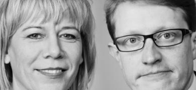 Vigdís Hauksdóttir og Birgir Ármansson