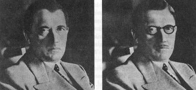 Hitler án skeggs