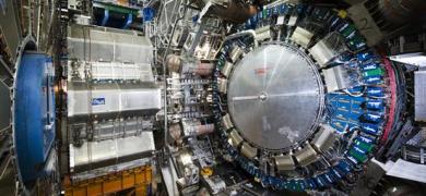 Mynd af LHC