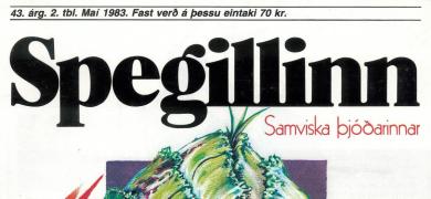 Mynd af forsíðu Spegilsins