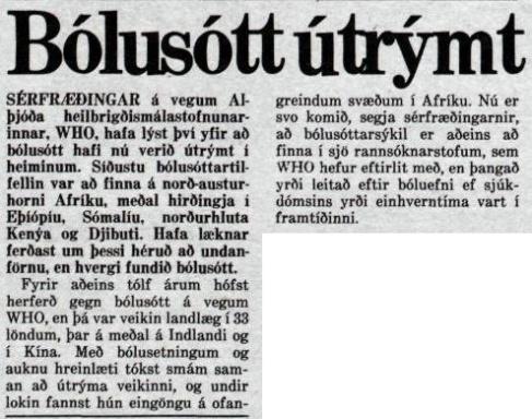 Morgunblaðið 24. október 1979, bls. 22