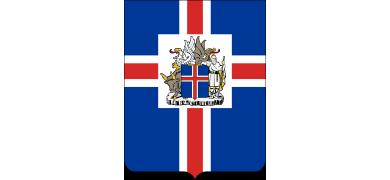 Mynd af skjaldamerki forseta Íslands