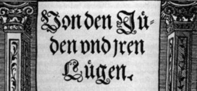 Mynd af forsíðu af hatursriti eftir Lúther