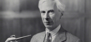Mynd af Bertrand Russell