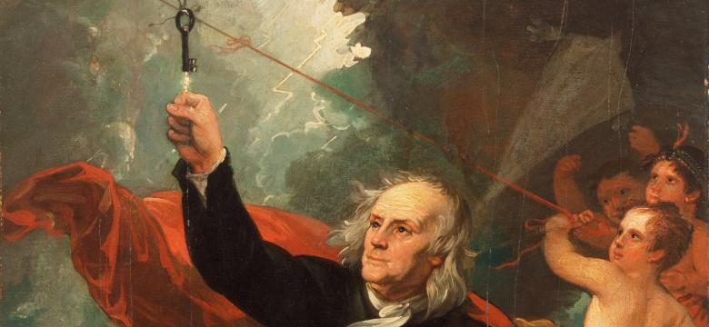 Mynd af Benjamin Franklin