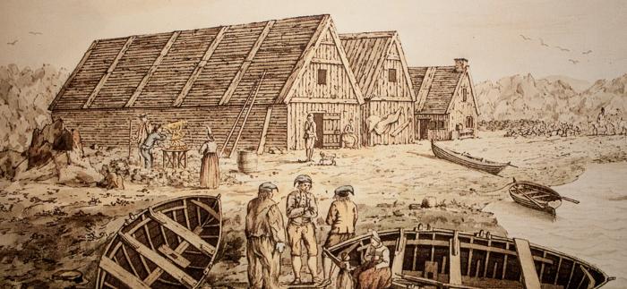 Mynd af Íslandi á 18. öld