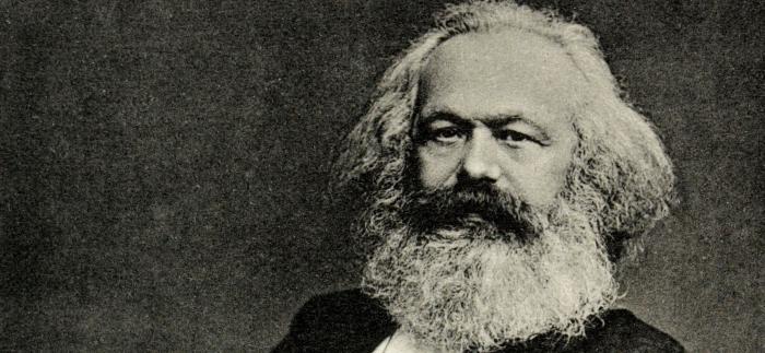 Mynd Karl Marx