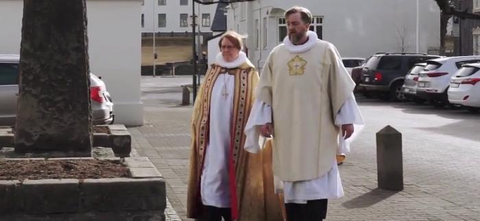 Mynd af biskupnum