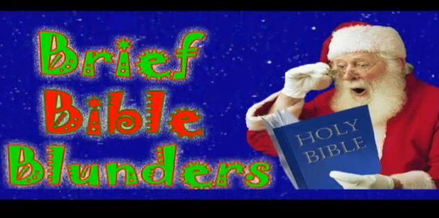 Smá biblíuklúður