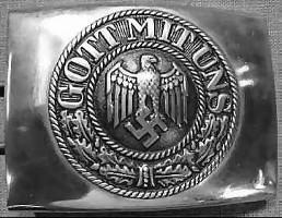 Guð er með okkur  Merki hersveita Hitlers